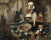 BOEL, Pieter Large Vanitas Still-Life  gdh Sweden oil painting reproduction