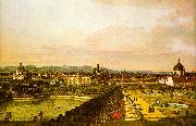 Bernardo Berlotto View of Vienna from the Belvedere Sweden oil painting reproduction
