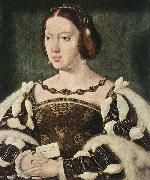 CLEVE, Joos van Portrait of Eleonora, Queen of France  fdg oil painting picture wholesale