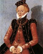 CRANACH, Lucas the Younger Portrait of a Woman sdgsdftg oil painting picture wholesale