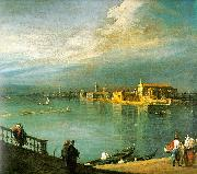 Canaletto San Cristoforo, San Michele Murano Sweden oil painting reproduction