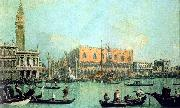 Canaletto Veduta del Palazzo Ducale Sweden oil painting reproduction