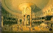 Canaletto Ranelagh, the Interior of the Rotunda Sweden oil painting reproduction