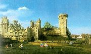 Canaletto Warwick Castle, The East Front Sweden oil painting reproduction