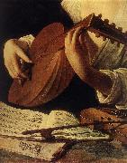 Caravaggio, Lute Player (detail) gg
