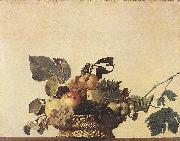 Caravaggio, Basket of Fruit df