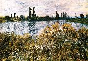 Claude Monet, By the Seine near Vetheuil