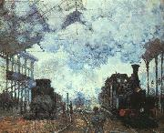 Claude Monet, Arrival at St Lazare Station