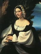 Correggio Portrait of a Gentlewoman Sweden oil painting reproduction