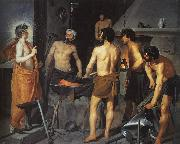 Diego Velazquez The Forge of Vulcan Sweden oil painting reproduction