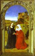 Dieric Bouts, The Visitation.