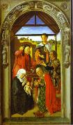 Dieric Bouts, The Adoration of Magi.