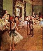Edgar Degas The Dance Class Sweden oil painting reproduction