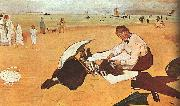 Edgar Degas, At the Beach_z