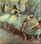 Edgar Degas, Ballet Dancers in the Wings
