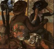 Edgar Degas, At the Milliner's