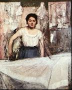 Edgar Degas, A Woman Ironing