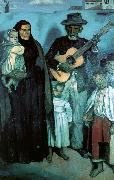 Emile Bernard Spanish Musicians Sweden oil painting reproduction