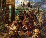Eugene Delacroix The Entry of the Crusaders into Constantinople Sweden oil painting reproduction