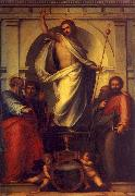 Fra Bartolommeo Resurrected Christ with Saints Sweden oil painting reproduction