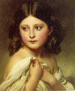 Franz Xaver Winterhalter, A Young Girl called Princess Charlotte