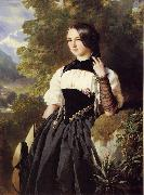 Franz Xaver Winterhalter, A Swiss Girl from Interlaken
