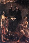 GUERCINO, St Augustine, St John the Baptist and St Paul the Hermit hf