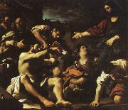 GUERCINO, Raising of Lazarus hjf