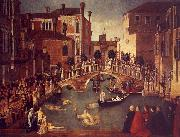 Gentile Bellini The Miracle of the True Cross near the San Lorenzo Sweden oil painting reproduction