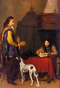 Gerard Ter Borch The Dispatch oil painting artist
