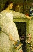 James Abbott McNeil Whistler Symphony in White 2 oil painting picture wholesale