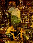 Jan Brueghel The Sense of Vision Sweden oil painting reproduction