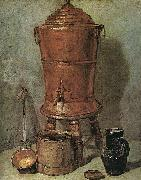 Jean Baptiste Simeon Chardin The Copper Cistern Sweden oil painting reproduction