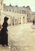 Jean Beraud The Wait (san11) Sweden oil painting reproduction