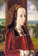Jean Hey Portrait of Margaret of Austria Sweden oil painting reproduction