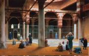 Jean Leon Gerome Interior of a Mosque  7 oil painting picture wholesale