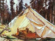 John Singer Sargent, A Tent in the Rockies