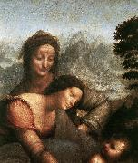 LEONARDO da Vinci, Madonna with the Yarnwinder  tw