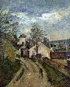 Paul Cezanne The House of Dr Gachet in Auvers Sweden oil painting reproduction