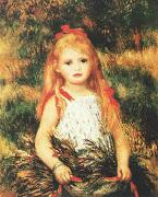 Pierre Renoir, Girl with Sheaf of Corn