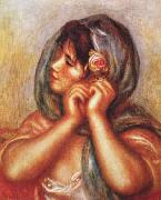 Pierre Renoir, Gabrielle with Rose