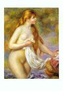 Pierre Renoir, Bather with Long Hair