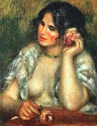 Pierre Renoir, Gabrielle with a Rose