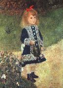 Pierre Renoir, Girl and Watering Can