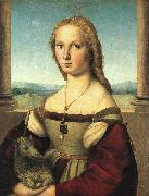 Raphael The Woman with the Unicorn oil painting picture wholesale