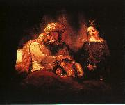 Rembrandt, Jacob's Blessing