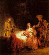 Rembrandt, Joseph Accused by Potiphar's Wife