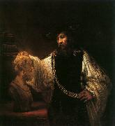 Rembrandt, Aristotle with a Bust of Homer