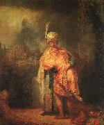 Rembrandt, David's Farewell to Jonathan
