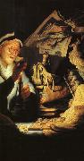 Rembrandt, The Rich Old Man from the Parable